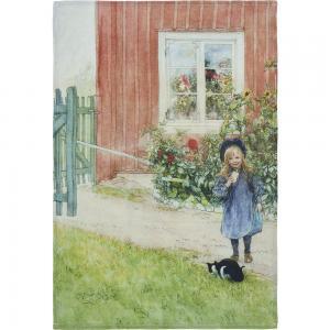 Kökshandduk, BRITA, Carl Larsson, grön