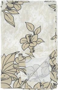 Bordduk KICKI, blommor, lin