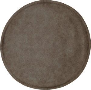 Stoldyna LYCKE, konstsläder, brun