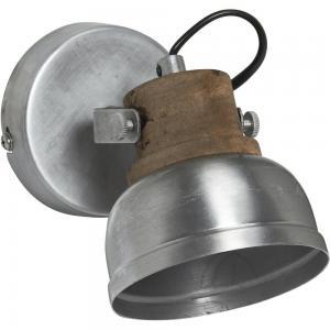 Vägglampa, RUTHLAND, silver