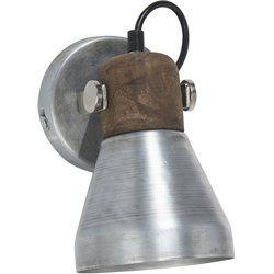 Vägglampa, ASHBY, silver