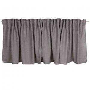Gardinkappa ALAN, enfärgad, grå
