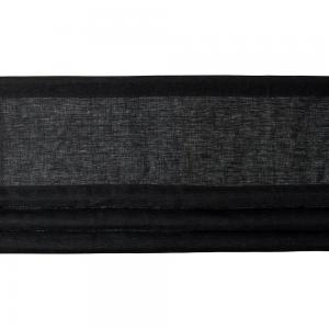 Fuskhisskappa NORA, metervara, svart