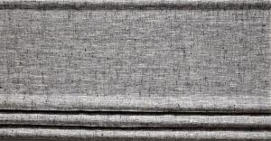 Fuskhisskappa NORA, metervara, melerad grå/svart/vit