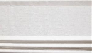 Fuskhisskappa NORA, metervara, vit
