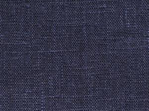 """Gardinkappa """"fuskhisskappa"""" på metervara i 100% lin med tre lagda veck, mörkblå"""