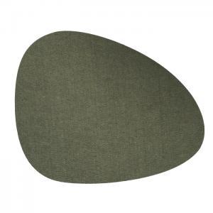 Bordstablett KELLY 4-pack, filt, grön