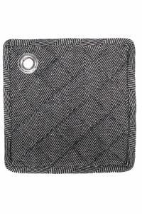 Grytlapp 2-pack, TOLEDO, svart