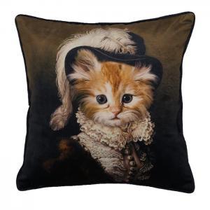Kuddfodral HENRI, katt, multi
