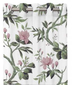 Gardinlängd CHIBA, blomstrande grenar, rosa/vit