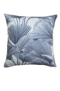Kudde BRENDAN, palmblad, grå