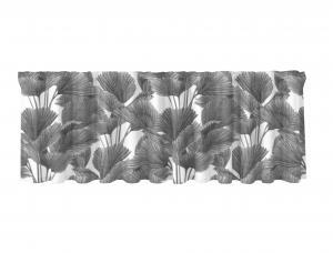 Gardinkappa BRENDAN, palmblad, grå