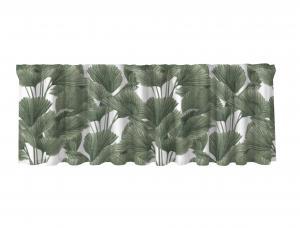 Gardinkappa BRENDAN, palmblad, grön