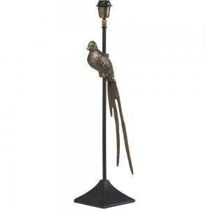 Lampfot/Bordslampa, BIRDIE LAMPFOT, Svart/Mässing.