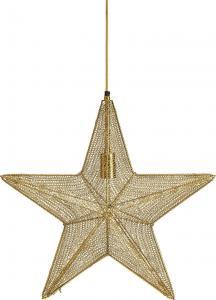 Julstjärna, ORION Hanging Star, guld