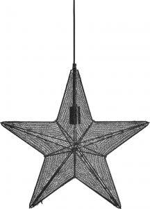 Julstjärna, ORION Hanging Star, svart