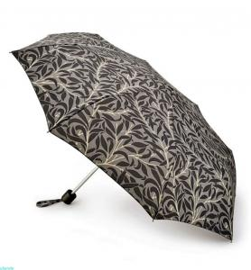 Paraply William Morris, Minilite, Pure Willow, grå