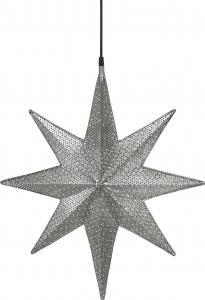 Julstjärna, CAPELLA Stjärna, svart nickel