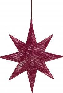 Julstjärna, CAPELLA Stjärna, röd