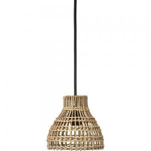 Taklampa/Fönsterlampa SARAH, flätad rotting, E27, två storlekar