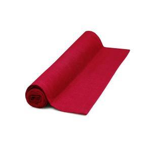 Löpare Struktur, lin, röd dahlia