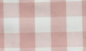 Klassisk rutig metervara, rosa