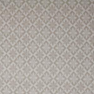 Vävd metervara i bolstermönster/madrasstyg, beige med beige varp