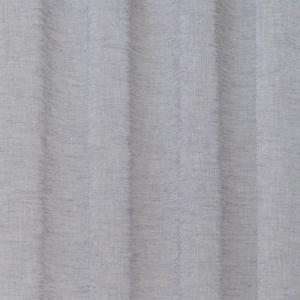 Enfärgad färdigsydd öljettkappa i tunt melerat tyg, grå