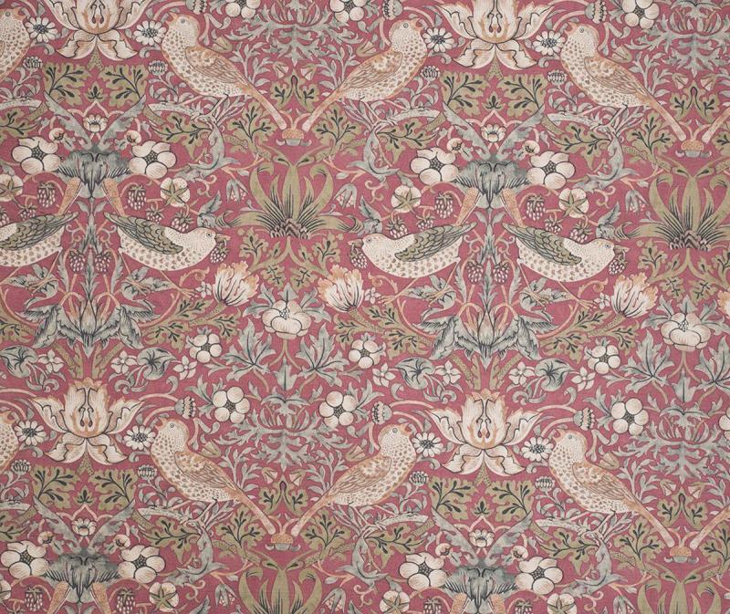 Gardinlängd William Morris, Vilja, roströd