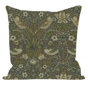 Kuddfodral Design William Morris mönster Vilja, grön