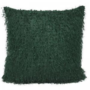 Kuddfodral med glamourkänsla, grön