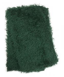 Pläd med glamourkänsla, grön