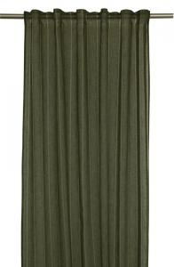 Enfärgade gardinlängder i tunnare tyg med ränder som ger fin effekt, finns i 2 färger