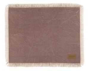 Bordstablett Hygge i stentvättad look med frans rosa