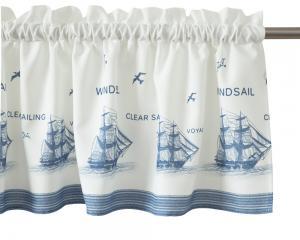 Gardinkappa, Windsale, blå