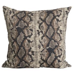 Kuddfodral Snake, ormskinnsmönster
