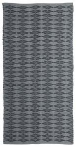 Matta Arama i tre storlekar med grafiskt mönster, grå