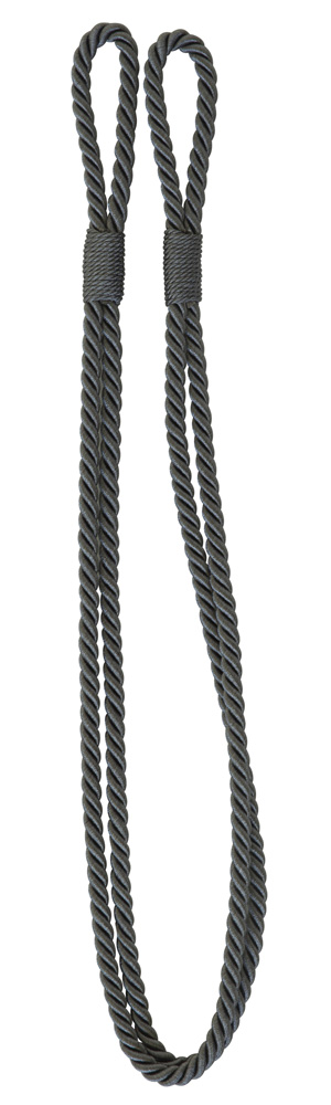 Enfärgat kabelomtag grå