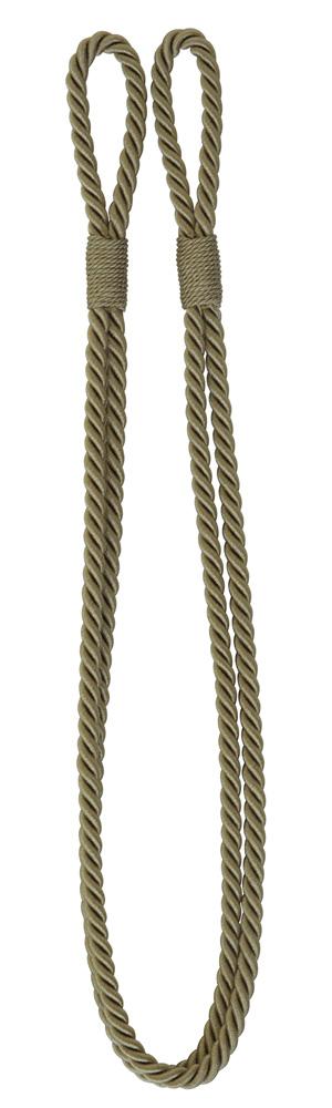 Enfärgat kabelomtag guldgrön