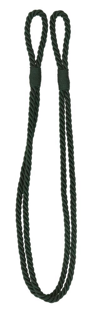 Enfärgat kabelomtag grön