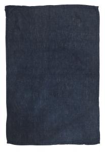 Handduk i tvättat linne, Lovely, blå
