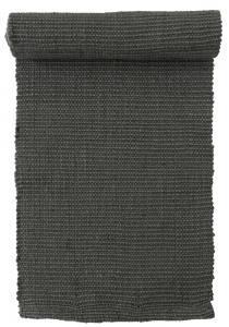 Rustik bordslöpare i naturmaterialet jute mörkgrå färg