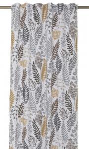 Gardinlängder Kvistar och Blad, design av Betty Svensson, ockragul