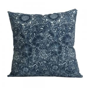Kuddfodral Design William Morris mönster Aletia, blå