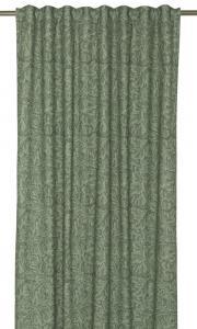 Gardinlängd Almira, Morrismotiv, grön