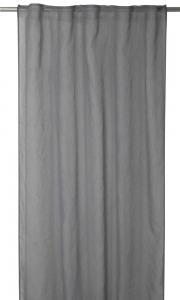 Gardinlängd Rimy i tunn skir kvalité, extra lång, grå