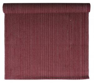 Bordstablett Flimm i tvåfärgat garn,röd