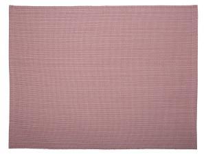 Bordstablett Flimm i tvåfärgat garn, rosa