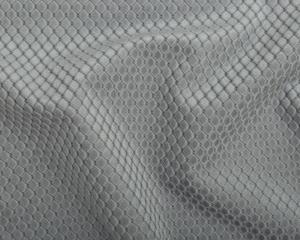 Metervara Romby i sammet med diagonalrutigt mönster, grå