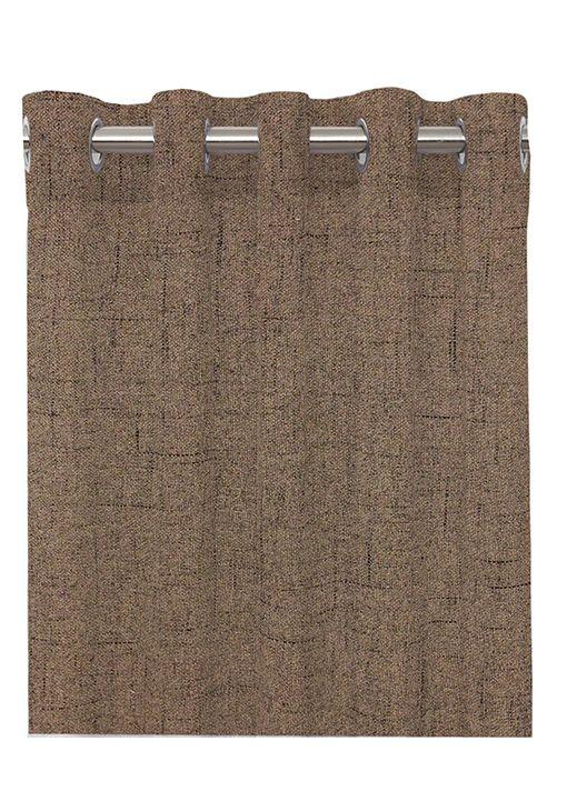 Mörkläggningsgardin, Arizona. Färdigsydd öljettlängd i mörkläggande tyg. 300 cm längd, mullvad.